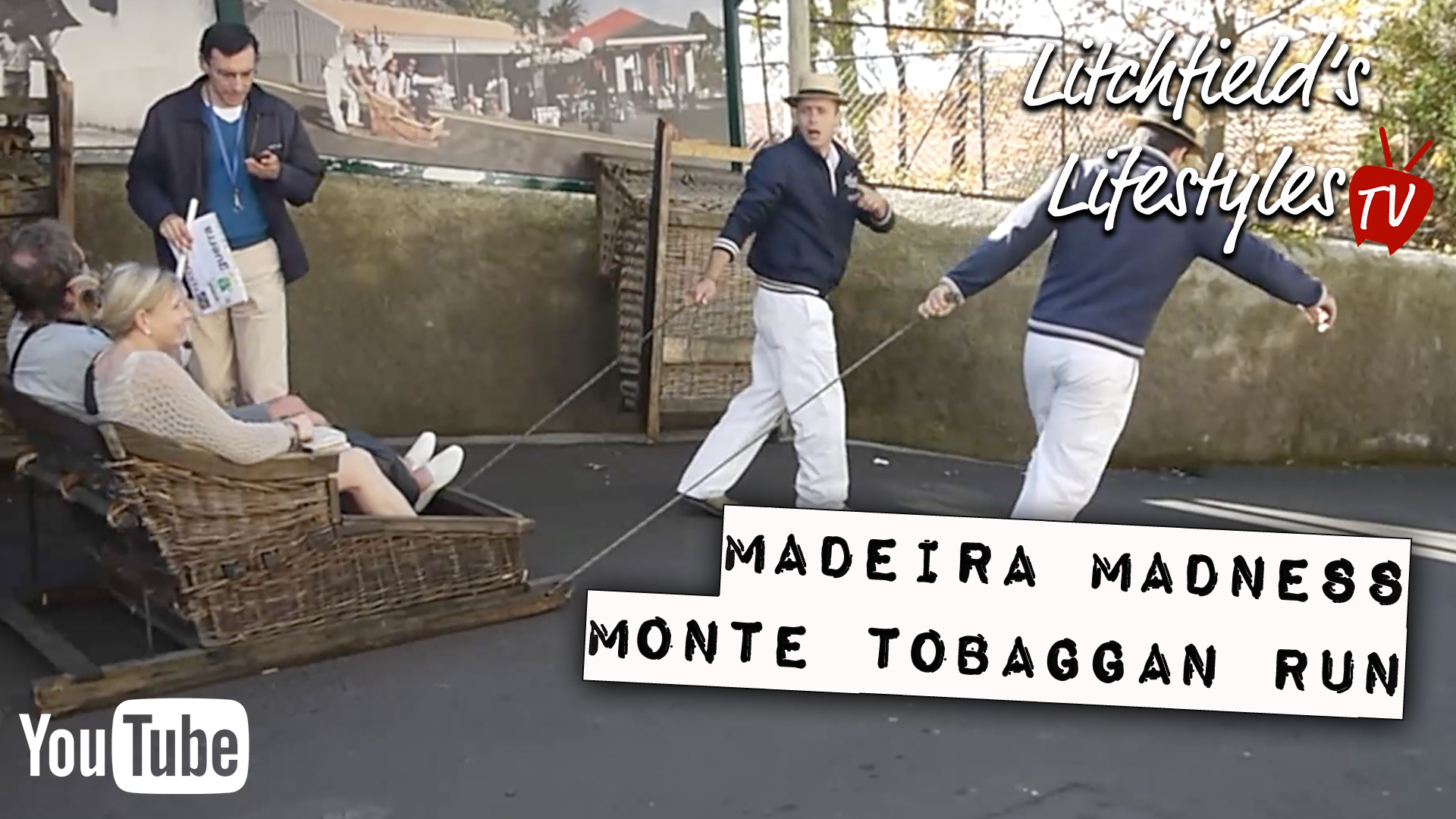 Madeira Madness:  The Monte Tobaggan Run