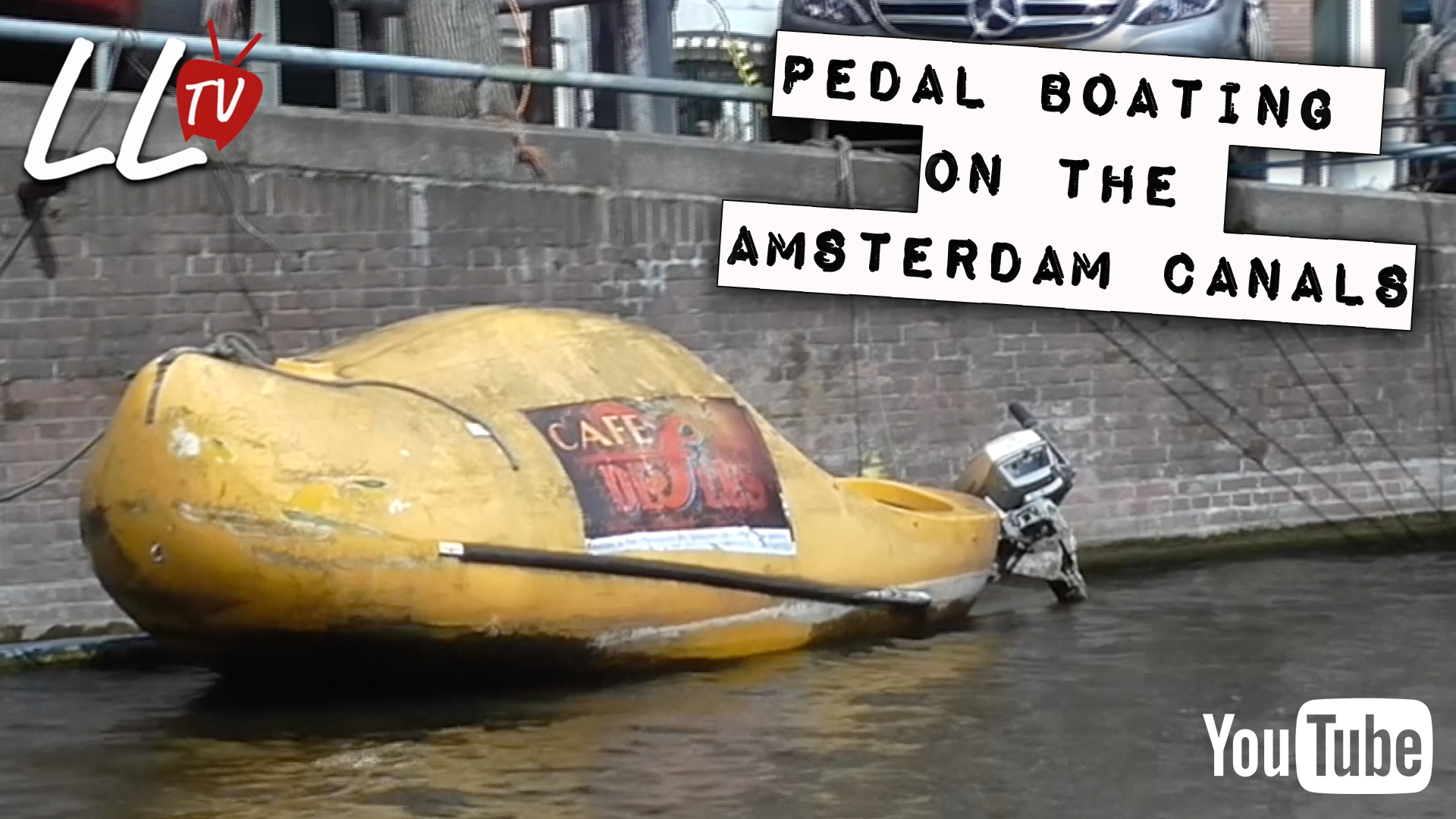 Pedal Boating on the Amsterdam Canals